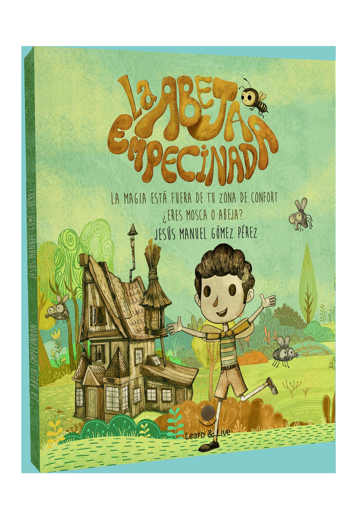 Libro Ilustrado La abeja empecinada_Jesus Manuel Gomez Perez
