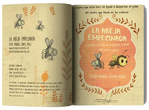 Libro La Abeja Empecinada Jesus Manuel Gomez Perez
